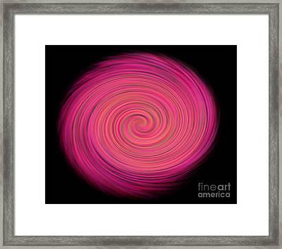 Spiral Framed Print by Lali Kacharava