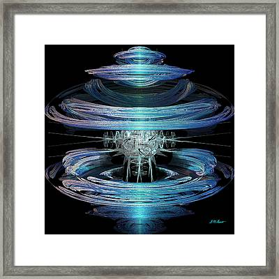 Spiral Movement Framed Print by Michael Durst