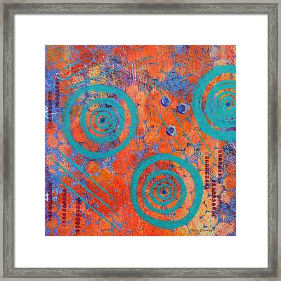 Spiral Series - Continual Framed Print by Moon Stumpp