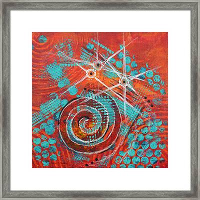 Spiral Series - Missive Framed Print by Moon Stumpp