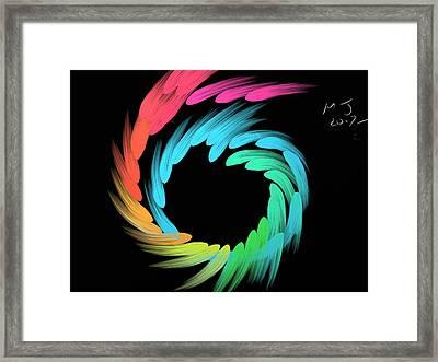 Spiralbow Framed Print by Michael Jordan