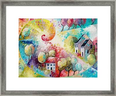 Spirale Framed Print by Beatrice BEDEUR