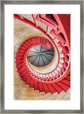 Spiriling Up Framed Print by Dean Martin