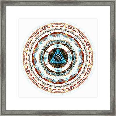 Spirit Circle Framed Print by Anastasiya Malakhova
