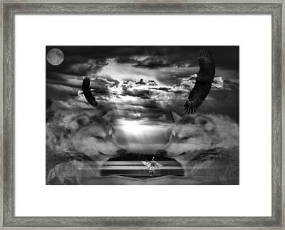Spirit Dance Framed Print by Thomas Young