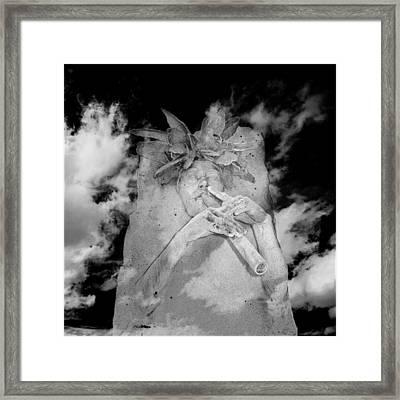 Spirit Flute Framed Print by Wendell Thompson