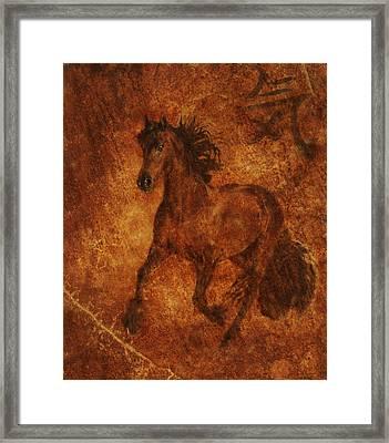Spirit  Framed Print by Melinda Hughes-Berland