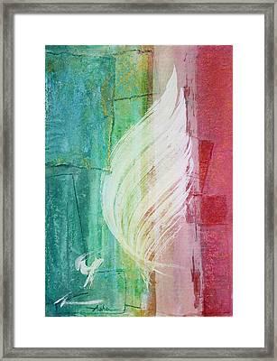Spirit Of Christmas Framed Print by Asha Carolyn Young