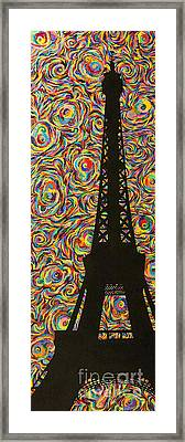 Spirit Of Paris Framed Print by Sean Ward