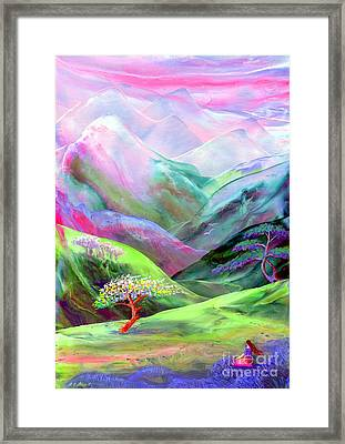Spirit Of Spring Framed Print by Jane Small