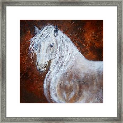 Spirit Of The Heart Framed Print by The Art With A Heart By Charlotte Phillips