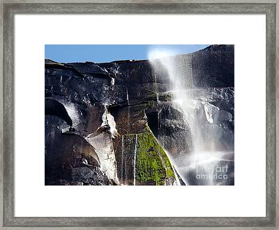 Spirit Of The Puffing Wind Framed Print by Eva Kato
