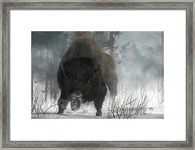 Spirit Of Winter Framed Print by Daniel Eskridge