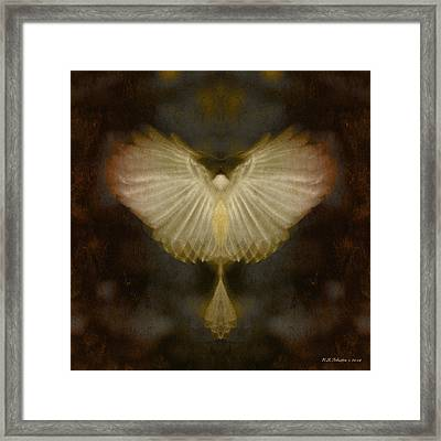 Spirit Rising Framed Print by WB Johnston