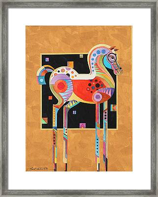 Spirit Stallion II Framed Print by Bob Coonts