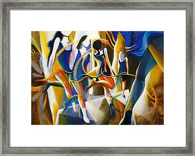 Spirited Away Framed Print by Georg Douglas