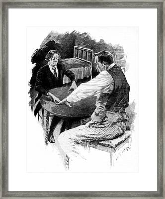 Spiritism Framed Print by Cci Archives