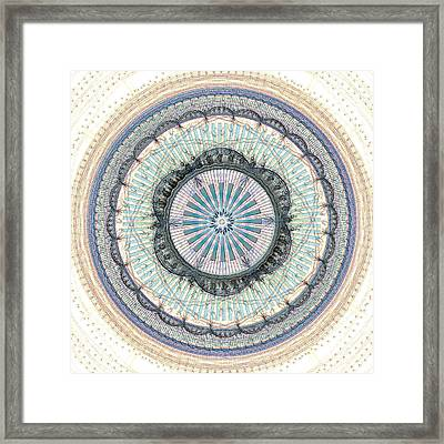 Spiritual Growth Framed Print by Anastasiya Malakhova