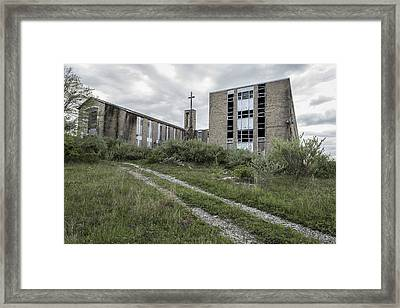 Spiritual Ruins Framed Print by Andrew Pacheco