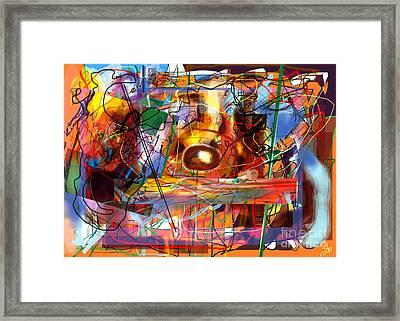 Spiritual Understanding 3 Framed Print by David Baruch Wolk