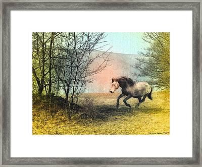 Spiritus Equus Framed Print by Patricia Keller