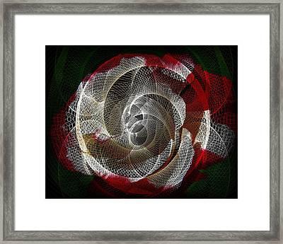 Spiro Framed Print by Athala Carole Bruckner