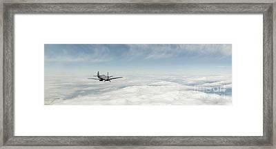 Spitfire Ace Framed Print by J Biggadike