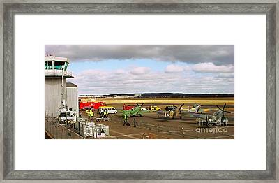 Spitfire's Galore Framed Print by Terri Waters