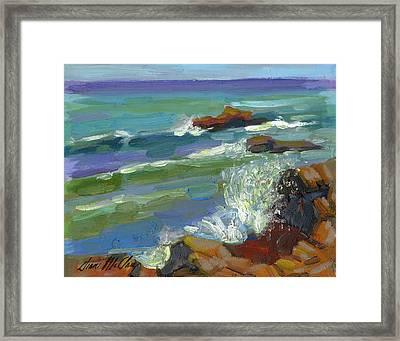 Splash 1 Framed Print by Diane McClary