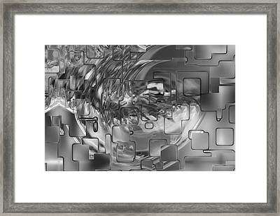 Splash Squared Framed Print by Jack Zulli