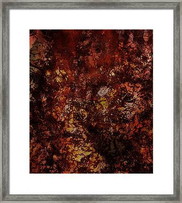 Splattered  Framed Print by James Barnes
