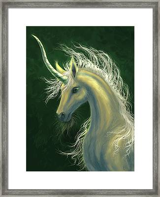 Splendour Framed Print by Katerina Romanova
