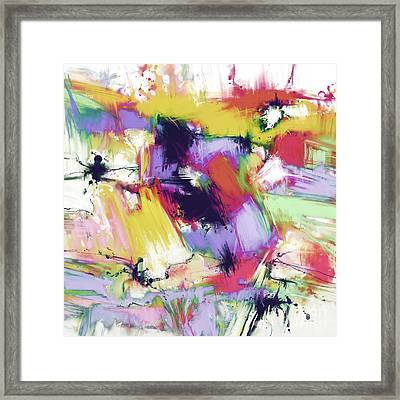 Splintered Time Framed Print by Keith Mills