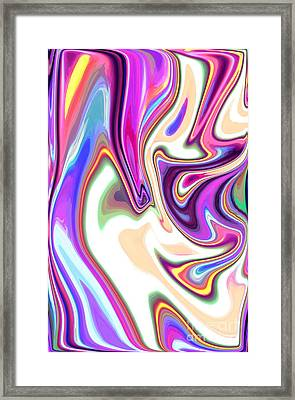 Split Personality Framed Print by Chris Butler