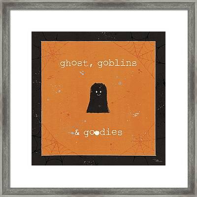 Spooky Cuties IIi Framed Print by Pela Studio