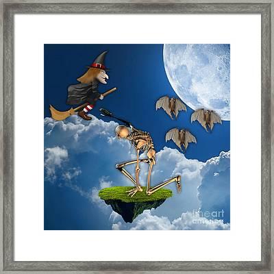 Spooky Framed Print by Marvin Blaine