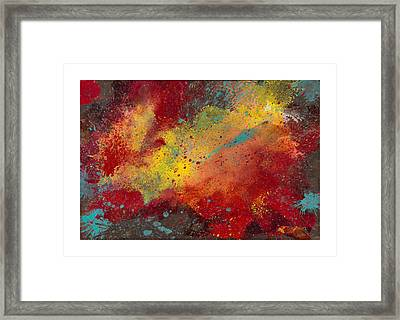 Sporadic Corruption 2 Framed Print by Craig Tinder