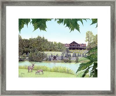 Sporting Clays At Seven Springs Mountain Resort Framed Print by Albert Puskaric