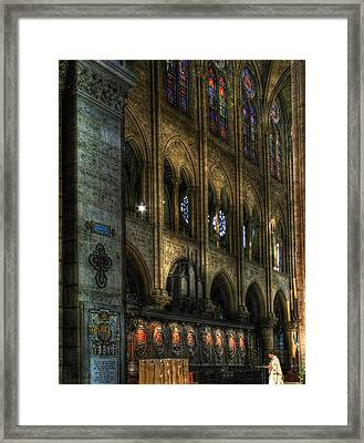 Spreading The Word Framed Print by Douglas J Fisher