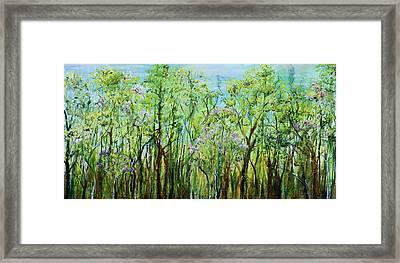 Spring Arpeggio Framed Print by Regina Valluzzi