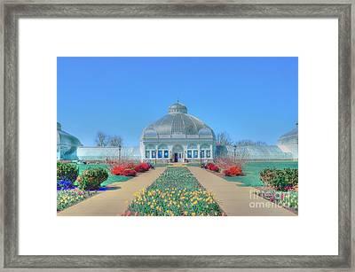 Spring At The Gardens Framed Print by Kathleen Struckle