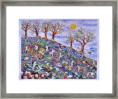 Spring Awakening Framed Print by Nancy Wait