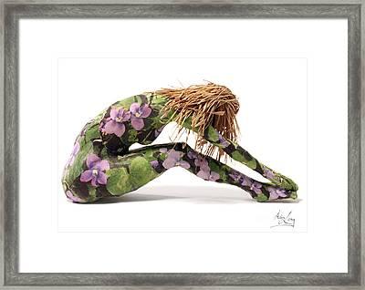 Spring Awakens Sculpture Framed Print by Adam Long