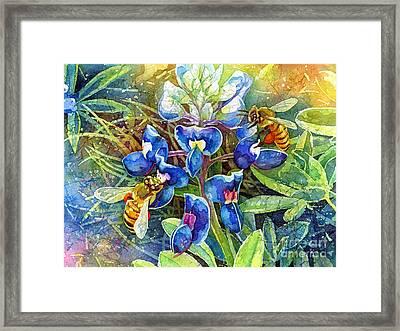 Spring Breeze Framed Print by Hailey E Herrera