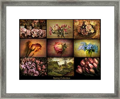 Spring Collection Framed Print by Jessica Jenney