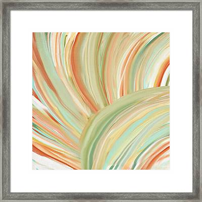 Spring Colors Framed Print by Lourry Legarde