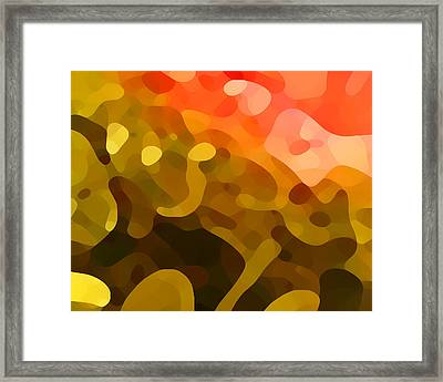 Spring Day Framed Print by Amy Vangsgard