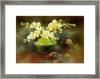 Spring Fling Framed Print by Diana Angstadt
