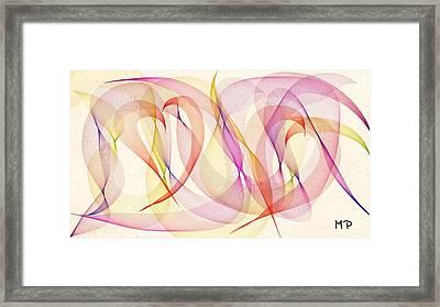 Spring Fling Framed Print by Marian Palucci-Lonzetta