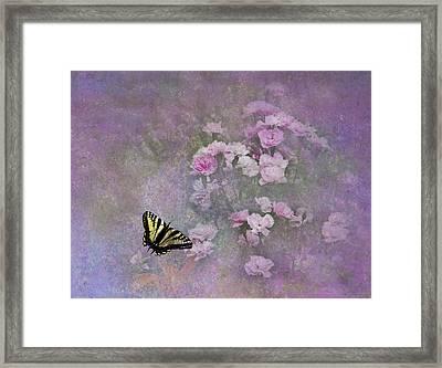 Spring Garden Framed Print by Diane Schuster